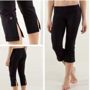 Lululemon Gather & Crow Crop Size 10
